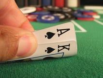 Grote Gladde Spades Royalty-vrije Stock Afbeelding