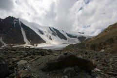 Grote gletsjer Aktru royalty-vrije stock foto's