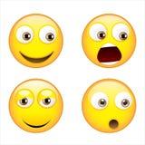 Grote glimlach Vector Illustratie