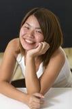 Grote glimlach Stock Foto's