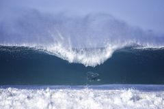 Grote golven bij bondistrand Royalty-vrije Stock Afbeelding