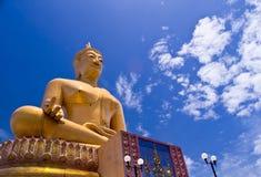 Grote Gouden Boedha van Thailand Royalty-vrije Stock Fotografie