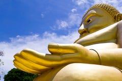 Grote Gouden Boedha van Thailand Royalty-vrije Stock Afbeelding