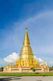 Grote gouden pagode in lumphun Royalty-vrije Stock Foto