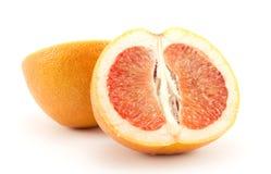 Grote grapefruit stock afbeelding