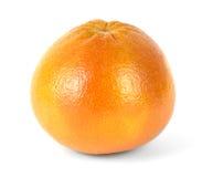 Grote grapefruit op een witte achtergrond Stock Foto