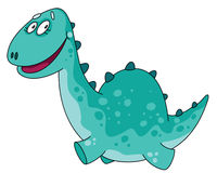 Grote grappige Dino Stock Foto's