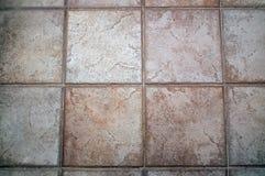 Grote grijze de tegelachtergrond van de steenvloer Stock Afbeeldingen