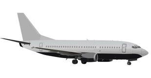 Grote grijze vliegtuigillustratie Royalty-vrije Stock Afbeeldingen