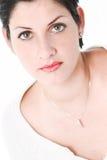 Grote groene ogen Royalty-vrije Stock Afbeelding