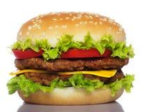 Grote hamburger Royalty-vrije Stock Afbeelding