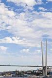 Grote hangbrug Royalty-vrije Stock Foto