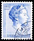 Grote Hertogin Charlotte, serie, circa 1961 royalty-vrije stock foto's