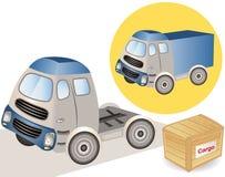 Grote het glimlachen vrachtwagen Royalty-vrije Stock Afbeelding