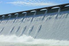 Grote Hydro-elektrische Dam Coulee Royalty-vrije Stock Afbeeldingen