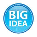 Grote Idee bloemen blauwe ronde knoop royalty-vrije illustratie