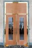 Grote ingangsdeur Stock Foto's