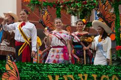Grote Internationale Parade stock foto's