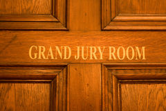 Grote juryruimte Stock Foto's