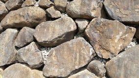 Grote Keien, Rotstexturen, Rotsmuur stock afbeelding