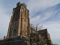 Grote Kerk in Dordrecht in the Netherlands Stock Images
