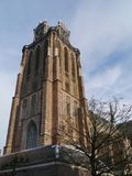 Grote Kerk in Dordrecht in the Netherlands. The Church of Our Lady or Grote Kerk in Dordrecht in the Netherlands is a medieval Protestant church Royalty Free Stock Images
