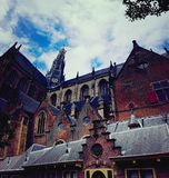 Grote Kerk a Haarlem Fotografia Stock
