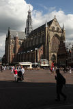 Grote Kerk in Haarlem,  Netherlands. Stock Photo
