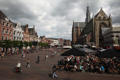 Grote Kerk in Haarlem,  Netherlands. Stock Photography