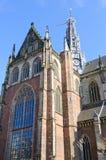Grote Kerk (St. Bavokerk) in Haarlem, Netherlands Royalty Free Stock Image