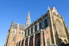 Grote Kerk (St. Bavokerk) in Haarlem, Netherlands Royalty Free Stock Photos