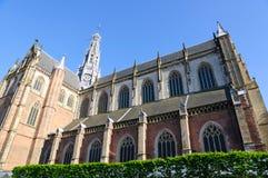 Grote Kerk (St. Bavokerk) in Haarlem, Netherlands Stock Photo