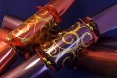 Grote Kerstmiscrackers Royalty-vrije Stock Afbeeldingen