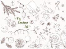 Grote Kerstmisreeks Stock Foto