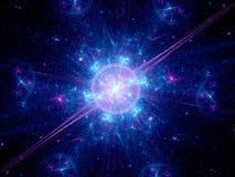 Grote klap in ruimte royalty-vrije stock foto's