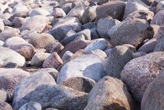 Grote kleurrijke rotsen Royalty-vrije Stock Fotografie