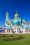 Grote kloosters van Rusland Het nieuwe klooster van Jeruzalem, Istra Stock Afbeelding