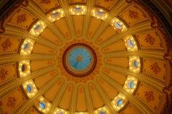 Grote Koepel van het Capitool van de Staat van Californië in Sacramento stock foto