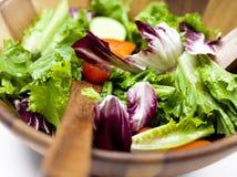Grote kom salade Stock Afbeeldingen