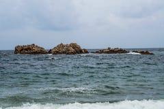 grote koninklijke rots van gyeongju Zuid-Korea royalty-vrije stock foto