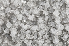 Grote kristallen van natrium-chloride Royalty-vrije Stock Foto