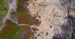 Grote kust Sur stock footage
