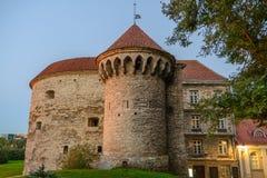 Grote Kustpoort en de Toren van Vette Margaret stock fotografie