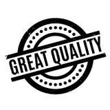 Grote Kwaliteits rubberzegel Royalty-vrije Stock Foto's