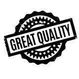 Grote Kwaliteits rubberzegel Royalty-vrije Stock Fotografie