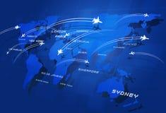 Grote Luchtvaart Stock Foto