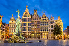 Grote Markt à Anvers, Belgique Image stock