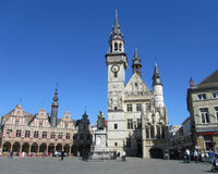 Grote Markt, Aalst Royalty Free Stock Photos