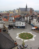 Grote Markt, Aalst Royaltyfri Fotografi
