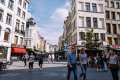 The Grote Markt of Antwerp Royalty Free Stock Photo